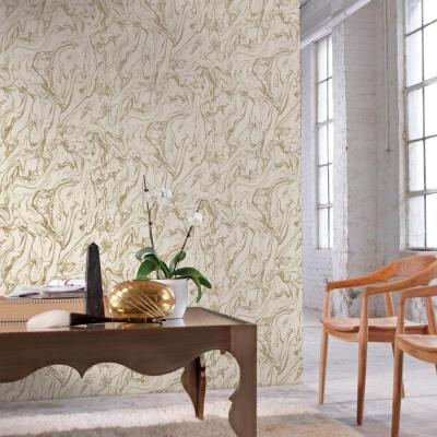 RoomMates 28.18 sq. ft. Gold Marble Peel and Stick Wallpaper-RMK9080WP - The Home Depot