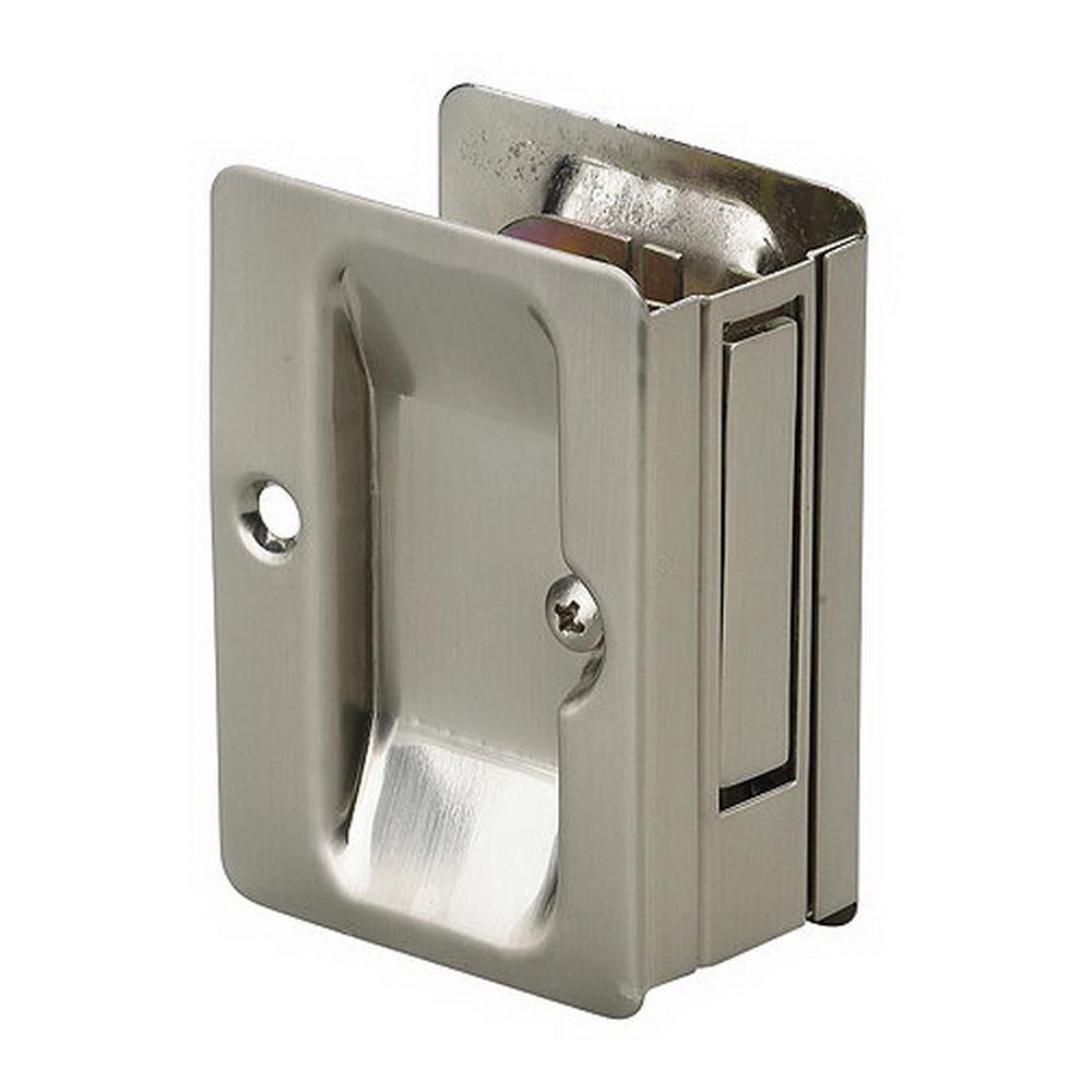 Invigorating Pulls Design Elements Passage Richelieu Hardware Brushed Nickel Pocket Door Pull Pulls Kansas City North Locks Locks Brushed Nickel Pocket Door Pull houzz-03 Locks And Pulls