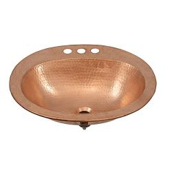 Enthralling Sinkology Kelvin Handcrafted Copper Bathroom Sink Faucetholes Faucetholes Sinkology Kelvin Handcrafted Copper Bathroom Sink Naked Copper houzz 01 Copper Bathroom Sinks