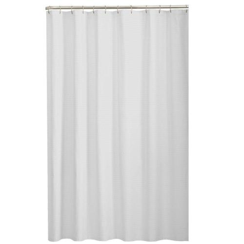Medium Of Black And White Shower Curtain