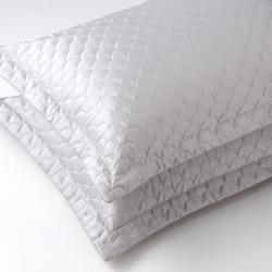 Exceptional Pillow Shams Shams Pillowcases Nikki Chu Silver Cloud Standard Quilted Pillow Sham Nikki Chu Silver Cloud Standard Quilted Pillow Euro Pillowcases houzz 01 Pillowcases And Shams