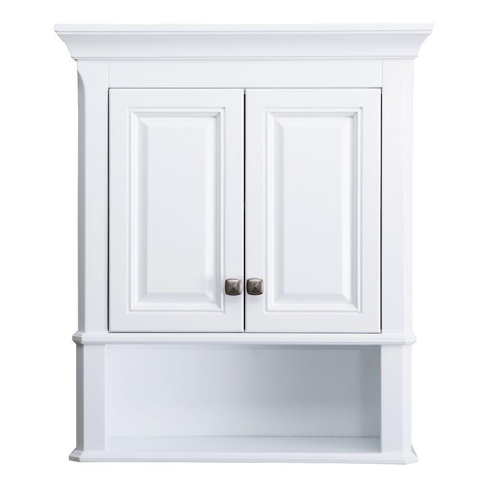 Fullsize Of White Bathroom Cabinet