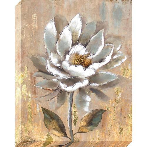 Medium Crop Of White Flower Oil