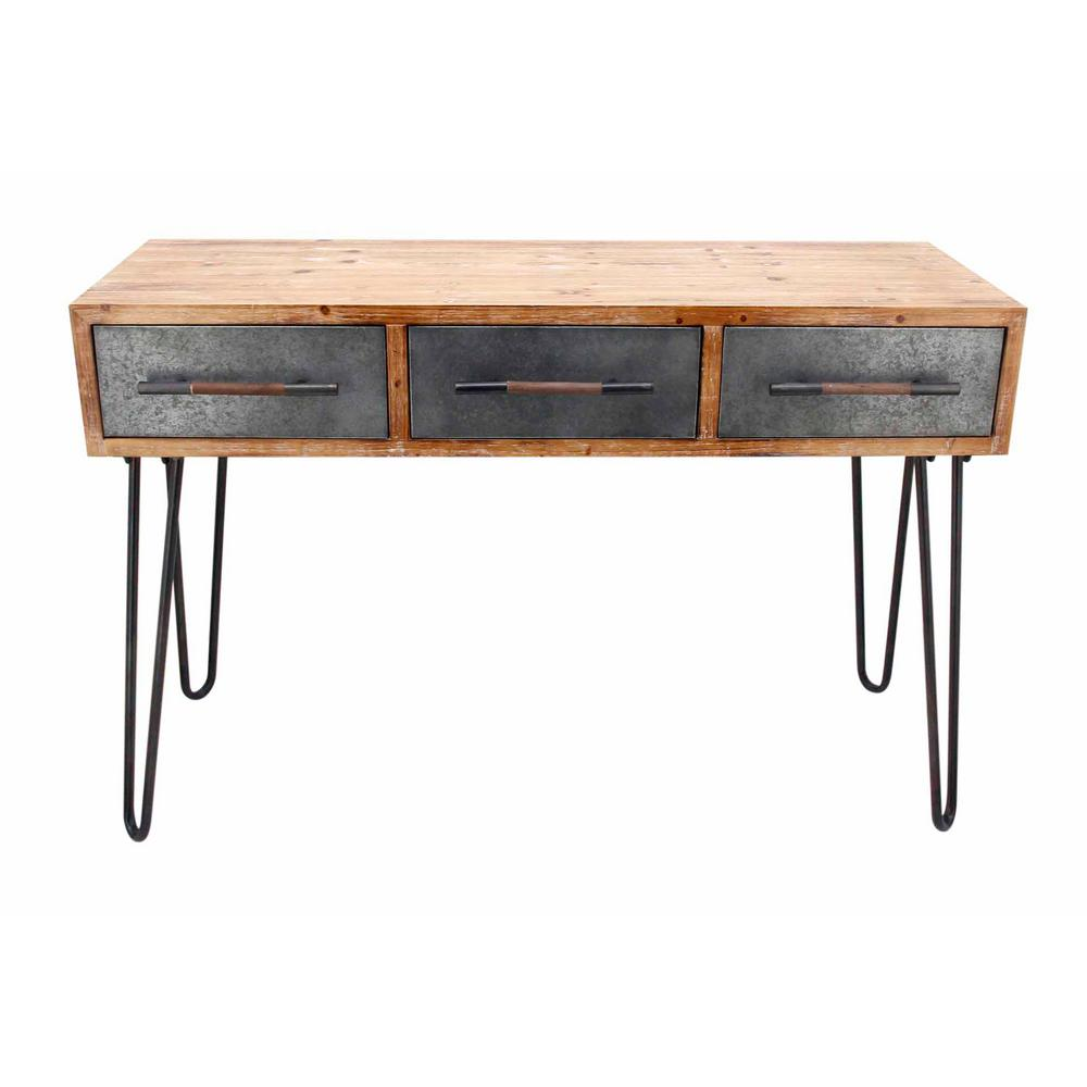 Fullsize Of Metal Console Table