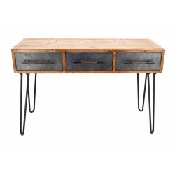Small Of Metal Console Table