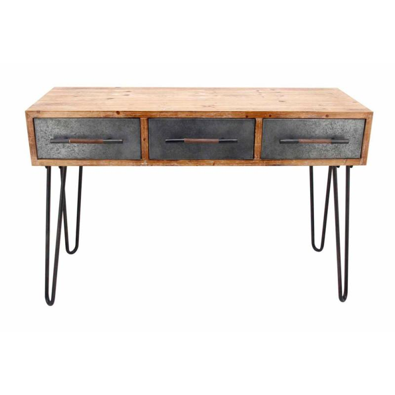 Large Of Metal Console Table