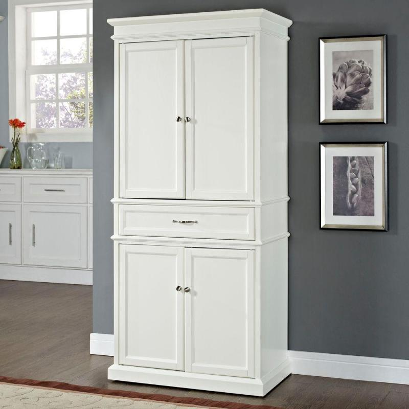 Large Of White Pantry Cabinet