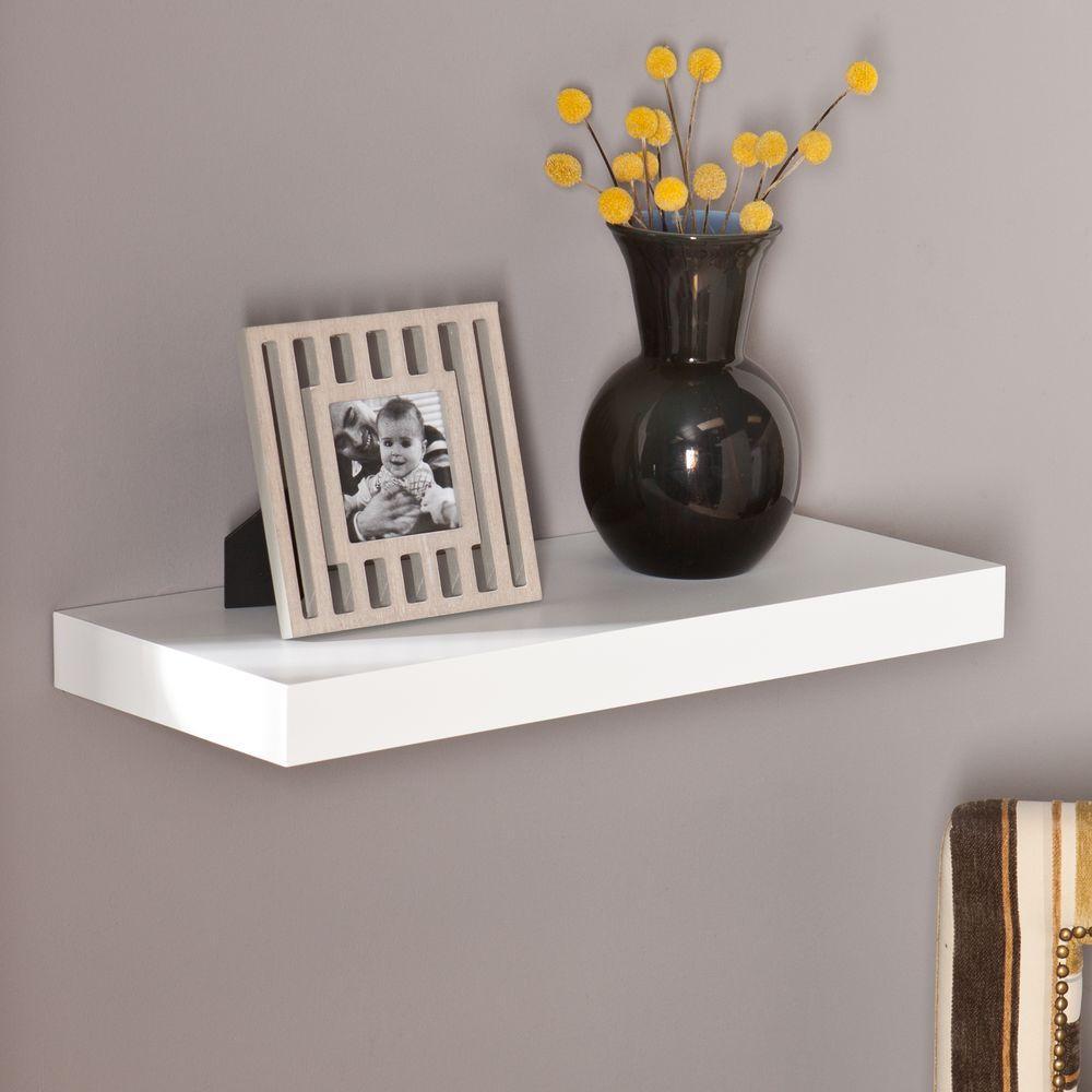 Fullsize Of Wall Shelves White