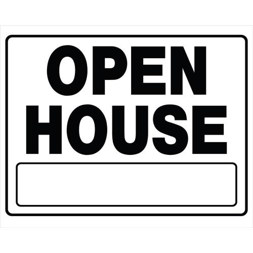 Medium Crop Of Open House Signs