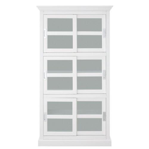Medium Of Glass Door Bookcase