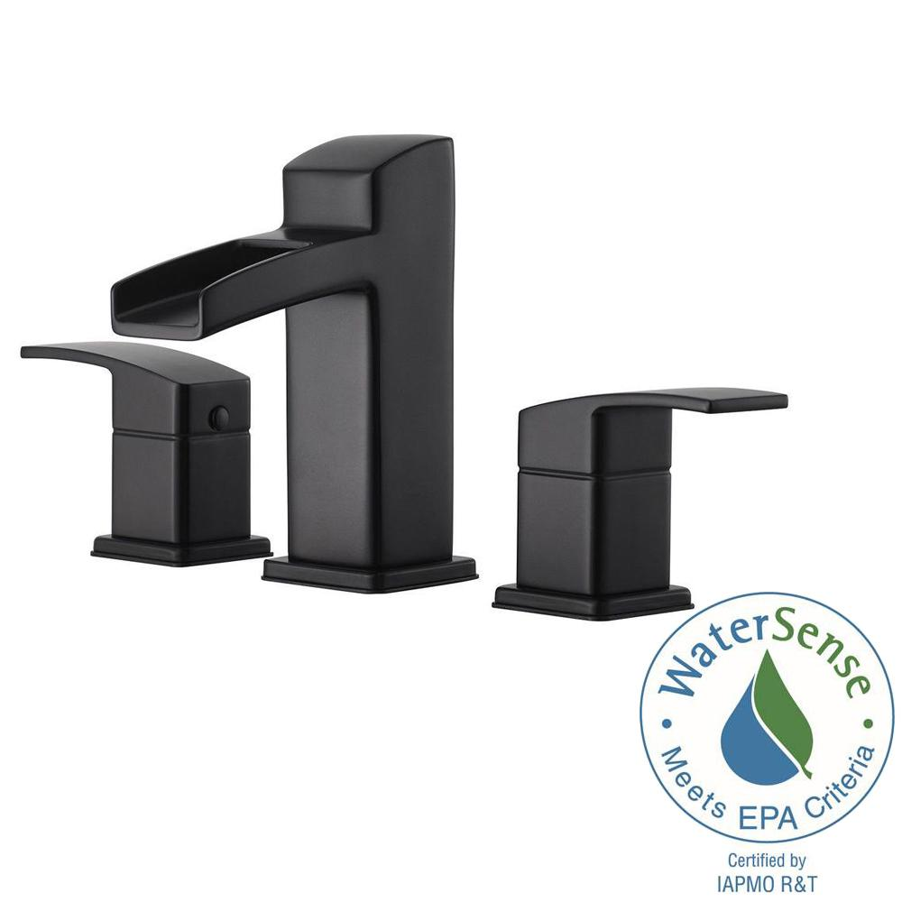 Flagrant Widespread Bathroom Faucet Matte Black Bathroom Faucets Lowes Black Bathroom Faucets Matte Black Pfister Kenzo Widespread Bathroom Faucet Sale houzz-03 Black Bathroom Faucets