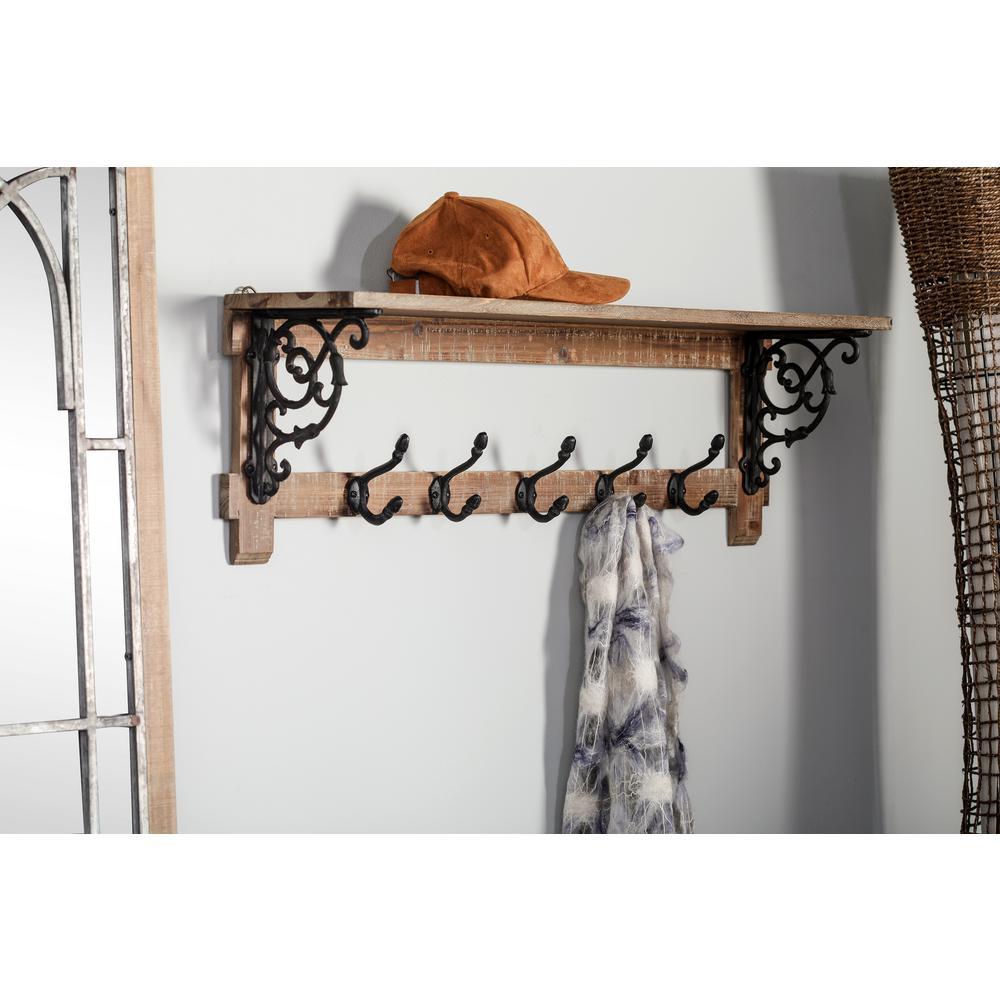Fullsize Of Shelf With Hooks
