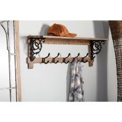 Small Of Shelf With Hooks