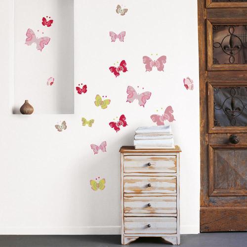 Medium Crop Of Butterfly Wall Decals