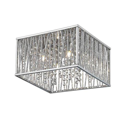 Medium Crop Of Flush Mount Chandelier