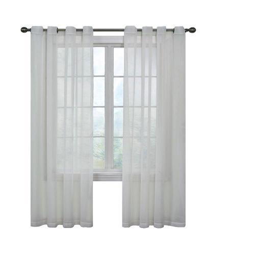 Medium Of Sheer White Curtains