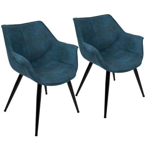 Medium Of Blue Accent Chair