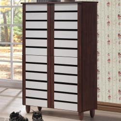 Sophisticated Medium Brown Wood Wide Tall Storage Tall Wood Storage Cabinets Baxton Studio Gisela Medium Brown Wood Wide Tall Storage Cabinet Baxton Studio Gisela Glass Doors