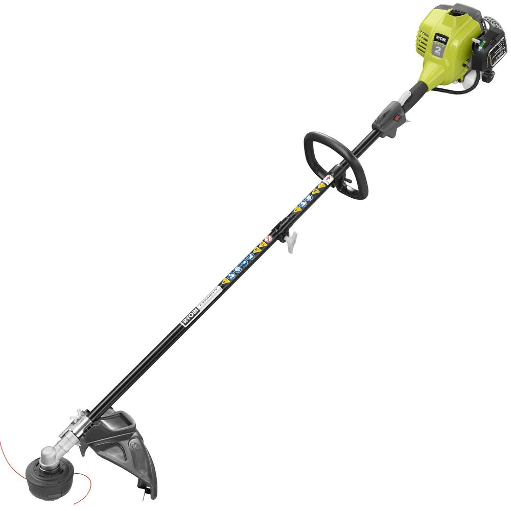 Exquisite Ryobi Attachment Capable Full Crank Straight Gas Shaft Stringtrimmer Ryobi Attachment Capable Full Crank Straight Gas Shaft Ryobi Gas Trimmer Home Depot Ryobi Gas Trimmer String houzz-03 Ryobi Gas Trimmer
