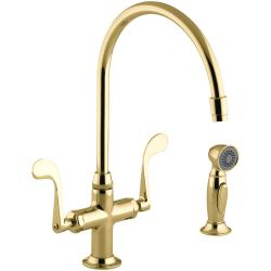 Small Of Brass Kitchen Faucet