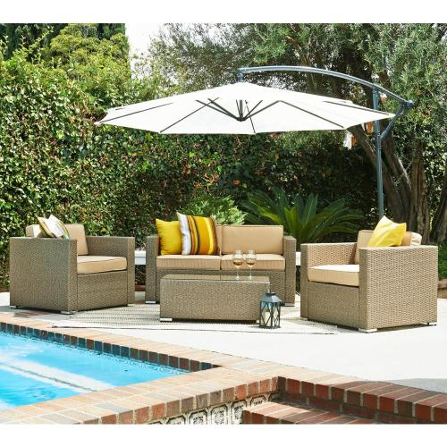 Medium Of Resin Wicker Patio Furniture