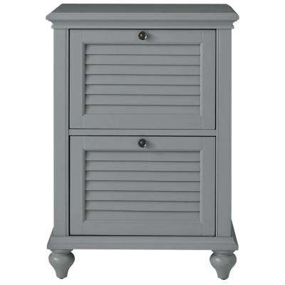 N Hamilton 2Drawer Grey File Cabinet