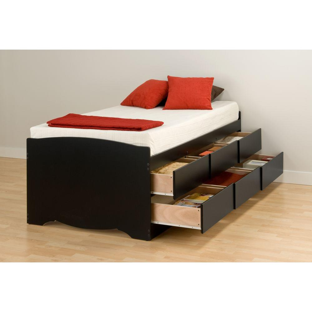 Reputable Prepac Sonoma Twin Wood Storage Bed Prepac Sonoma Twin Wood Storage Home Depot Twin Bed Drawers On Both Sides Drawers Solid Wood Twin Bed baby Twin Bed With Drawers