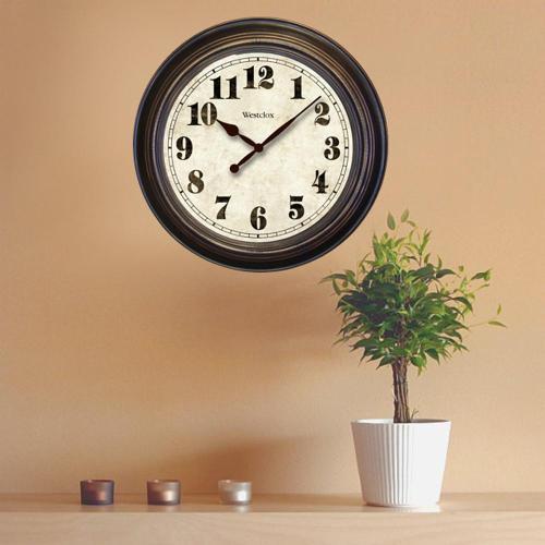 Regaling Round Wall Clock Wall Clocks Wall Decor Home Depot Star Shaped Wall Clocks