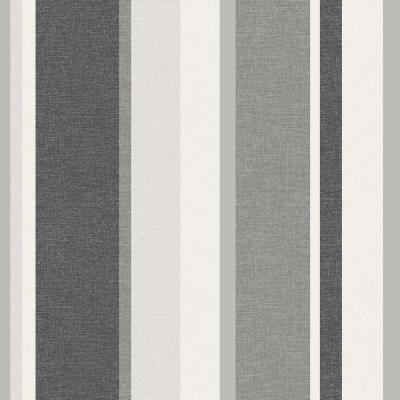 Norwall Ticking Stripe Wallpaper-SY33933 - The Home Depot