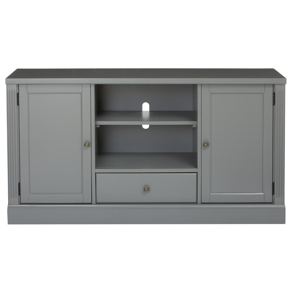 Fascinating Unbranded Edinburgh Grey Media Ii Center Unbranded Edinburgh Grey Media Ii Home Depot Grey Tv Stand Coffee Table Grey Tv Stand Mount houzz 01 Grey Tv Stand