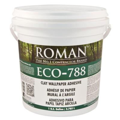 ROMAN ECO-788 1 gal. Strippable Clay Adhesive-18601 - The Home Depot