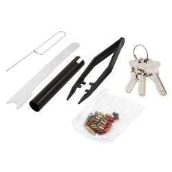 Eye Schlage Steel Door Lock Set Kit Schlage Steel Door Lock Set Schlage Rekey Kit 6 Pin Schlage Rekey Kit Amazon
