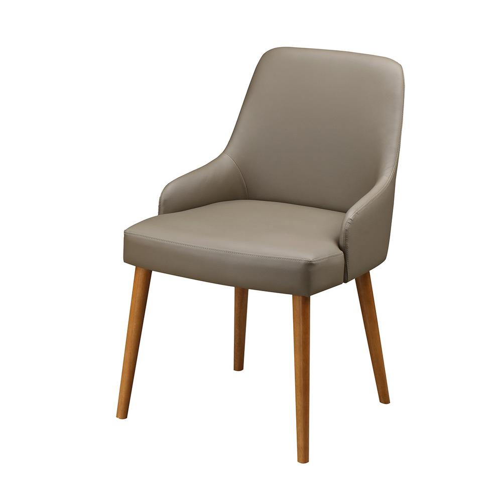 Sleek Arms Chairs Metal Legs Techni Home Beige Faux Lear Chairs Chairs Techni Home Beige Faux Lear Chairs houzz 01 Modern Dining Chairs