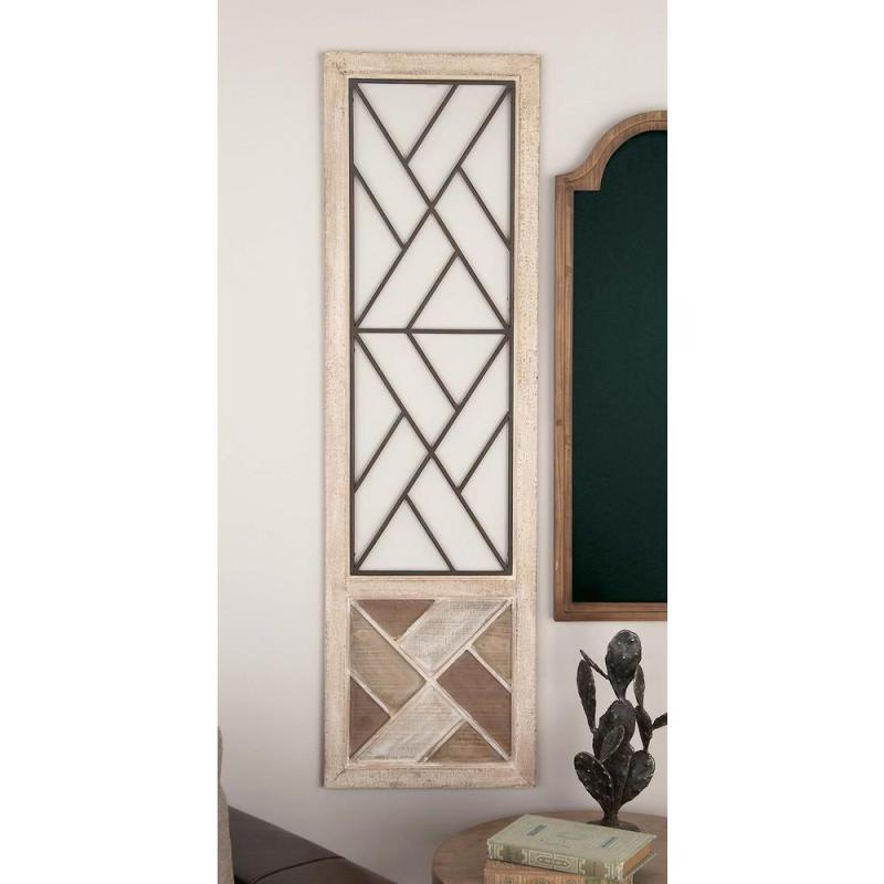 Cute Geometric Wood Medallion Metal Wall Metal Wall Shelf Metal Wall Petrified Wood