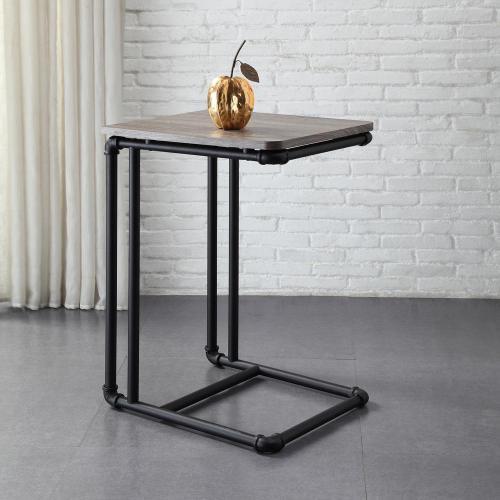 Medium Of Black Side Table