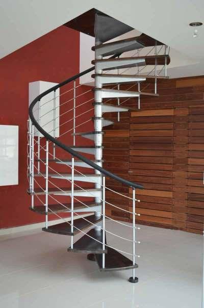 Escalera caracol con cinta n24 Venta de Escaleras y Barandas