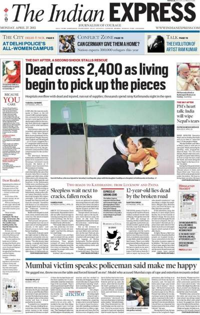 In this time of the instant content, The Indian Express is ...