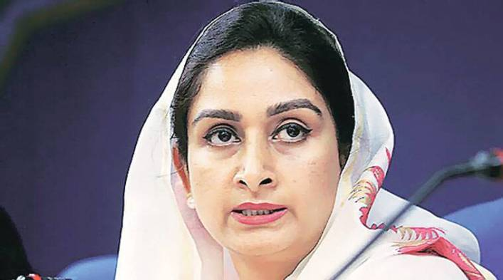 Image result for harsimrat kaur badals