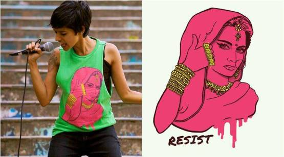 pink lady resist, the pink lady, the pink lady merchandise, the pink lady t-shirts, the pink lady geetanjali dhillon, the pink lady kalki koechlin, the pink lady resist, indian express, indian express news, lifestyle news, fashion, indian express, indian express news