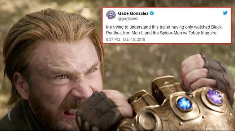 Avengers  Infinity War  trailer is out  and funny Twitter memes     Avengers  Infinity War  Avengers  Infinity War meme