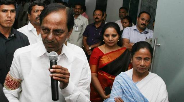 Image result for kcr mamata banerjee