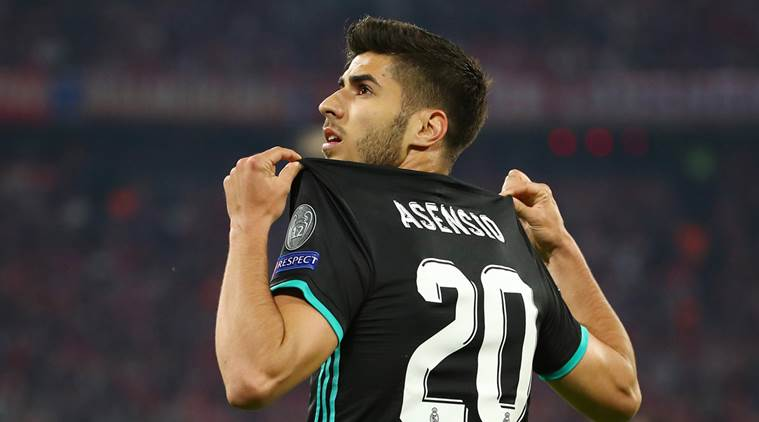 Image result for marco asensio vs bayern munich