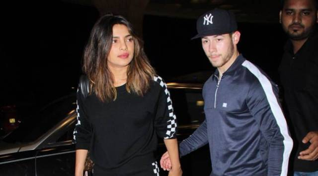 priyanka chopra, nick jonas leave from india