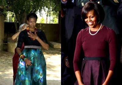 Will Michelle Obama's sartorial pick includes sari ...
