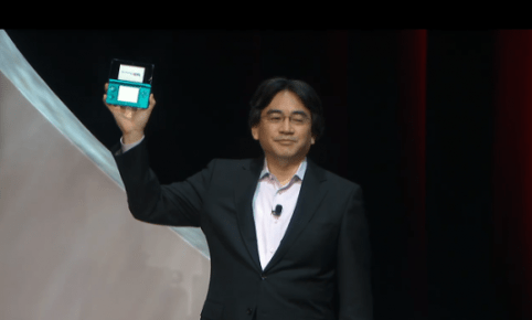 Nintendo 3DS E3 Reveal 536x322 E3 2010: Nintendo Unveils Nintendo 3DS; Takes 3D Pictures; No Glasses Required