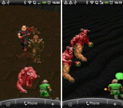 Doom live wallpaper for Android