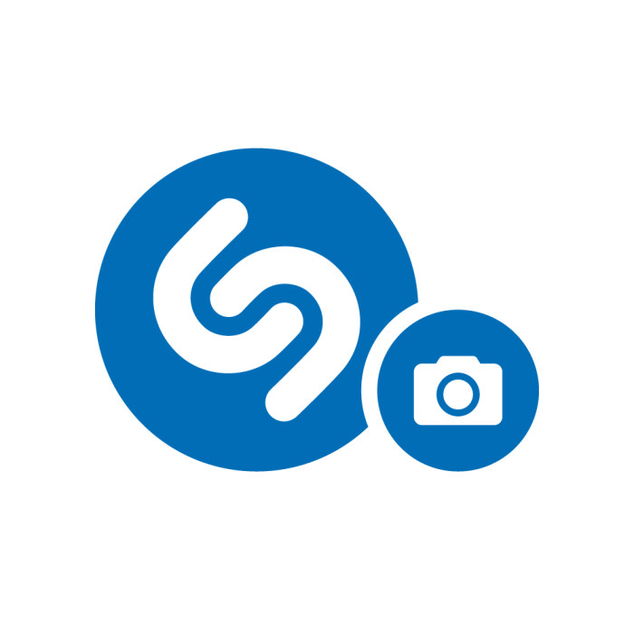 Logo pictogramme d'identification d'un contenu à Shazamer