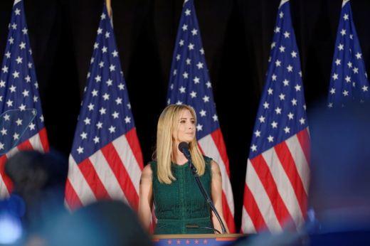 Ivanka Trump in Pennsylvania. Michael Vadon / Flickr