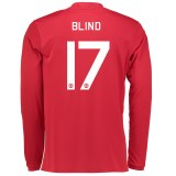 Manchester United Cup Home Shirt 2016-17 - Long Sleeve with Blind 17 p