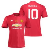 Manchester United EFL Cup Final Home Shirt 2016-17 with Rooney 10 printing